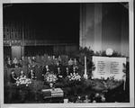 Huntington BPOE (Elk's Club) meeting to honor deceased members, ca. 1951