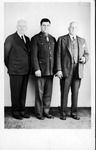 Dave Gideon far right, Billy Birke in middle, ca. 1940's