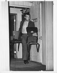 Huntington Police Dept. Chief Gil Kleinknecht on gambling raid, Sept. 1966