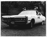 Huntington Police Dept. marked patrol vehicle , 1969-70