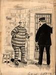 Original sketch for Puck Magazine, Sept. 1905