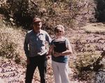 Ray Fletcher & Ellen Gill, descendants of Joseph Gill, Little Brier Creek, W.Va.