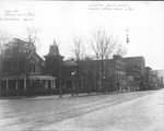 Looking southwest along 3rd Ave from 12th St, Huntington, W.Va.