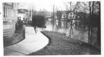 1937 flood, looking N at 3rd Ave & 14th Street, Huntington, W.Va.