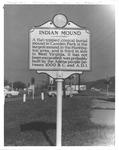Historical Marker, Camden Park, Huntington, W.Va.