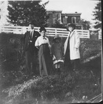 Lee Hedges and Maudie Hedges, ca. 1920