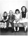 Children of Larry Wayne Egnor, Crab Orchard, WVa, May 1966