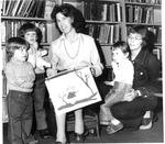 Woman's Club of Beckley, Children's Hour at Library, Feb. 14, 1973