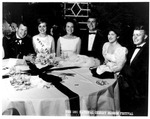 National Cherry Blossom Ball, Washington, Luci Johnson 2nd from right, april 1965