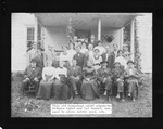 1911 Home coming of Prince family, Cabell County, WVa,