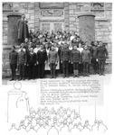 Beckley gathering of service men & women, ca. 1917?
