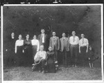 Rakes family reunion, Raleigh County,WVa, early 1900's