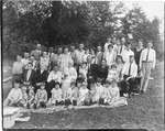 Miller family reunion, Carden Terrace, Raleigh County, WVa, 1927