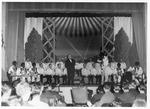 Beckley male Chorus at Ashford Gen. Hospital, June 7, 1944