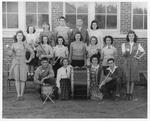 Sophia High School Band, Raleigh County, WVA, 1944