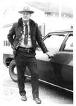 Mabscott, WVa, police officer Talmadge Alley, 1972-73