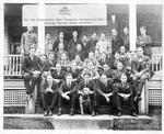 Phi Psi fraternity at WVU, Morgantown, W.Va., ca. 1910