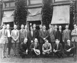 Dalton sales class for 1923, Harlow Warren one of the students