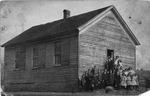 Cleveland School, Webster County,WVa?, 1910