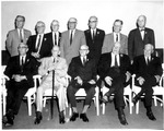 Charter members of Beckley Elks Lodge, Feb. 17, 1974