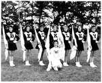 Woodrow Wilson High School flag corps, Beckley, W.Va., ca. 1970's