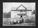 George Covey Home, Saxon Road, Trap Hill Dist., Raleigh Co.,WVa. early 1900's
