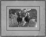 Lucian Furrow & sister Garnet, Crow, Raleigh County,WVa., 1938