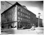 Corner business bldg, Beckley, W.Va., ca. 1929