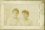 Two unidentified females, ca. 1900