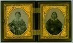 Two unidentified women, ca. 1860's