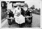 Helen Alexander(?) in Barboursville, W.Va., July 27, 1921