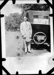 Unidentified man, Ritter Park, Huntington,WVA, June 14, 1925