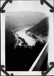 View from Hawk's Nest overlook, Hawk's Nest State park, W.Va. June 6, 1931