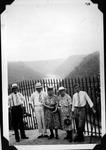 Alexander family at Hawk's Nest overlook, W.Va.,August 1939