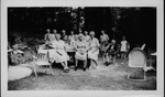 Group of Alexander women at a picnic, June 24, 1947