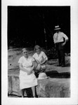 Alexander family at Hawk's nest State park, 1932