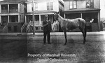Leroy Willey or His Father with Horse