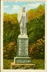 Devil Anse Hatfield monument between Logan & Williamson, W.Va.