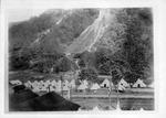 Militia encampment on Paint Creek, during WV mine wars, ca. 1912