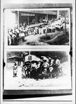 Union relief day at Matewan, WVa, and squad of Mingo County militia.