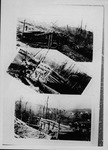 3 views of mine strikers' forts near Grant Town, Marion County, WVa, ca. 1924
