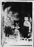 Howard B. Lee and 2 siblings, ca 1887, Burning Springs, Wood County,WVa