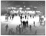 Ice skating at Memorial Field House, Huntington,WVa, 1954
