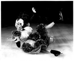 Comedian Kevin Bubp, Holiday on Ice, at Memorial Field House, ca. 1950's