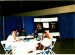 Group table at Memorial Field House, 360 communications event