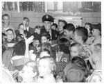 Free passes at 2nd Amateur Boxing Show, Memorial Field House, Oct.10, 1951,