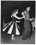 Teenage dance, Memorial Field House, Huntington,WVa, July 19, 1957