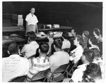 Recreation Dept. meeting, Memorial Field House, Huntington,WVa, June 14, 1958