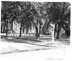 Cabell Elementary School & athletic field, Huntington, WVa., 1951