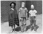 Enslow School costume party, Huntington,WVa, ca.1951